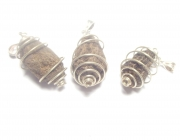High John The Conqueror Spiral Pendant